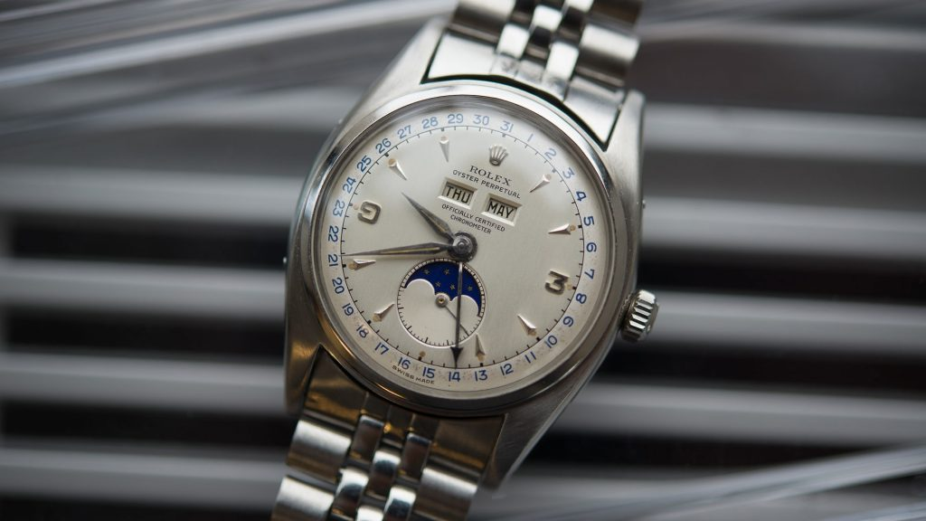 Rolex Stainless Steel Reference 6062