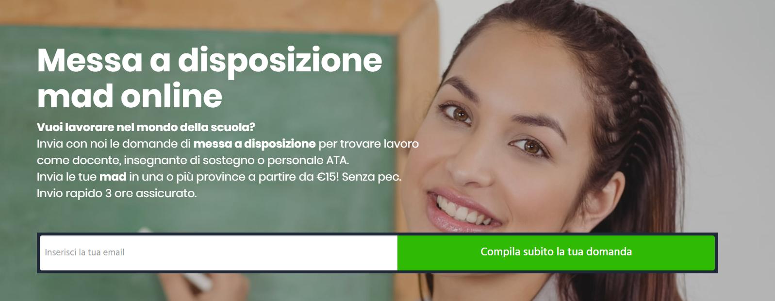Messa A Disposizione: l'assistenza proposta da madscuola.it