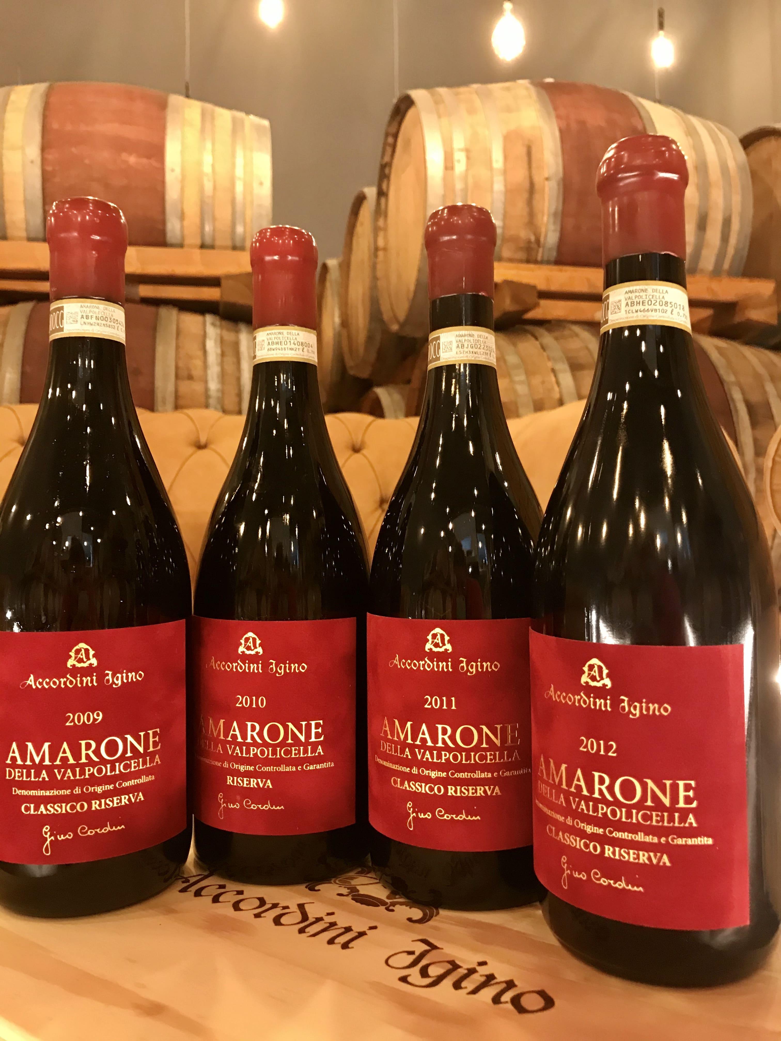 Igino Accordini: eccellenza italiana nel settore dei vini
